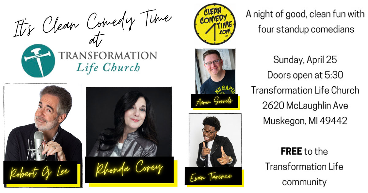 Clean Comedy Time at Transformation Life Church